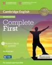 Complete: Complete First Student's Book with Answers with CD-ROM with Testbank