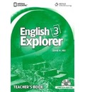 English Explorer 3: Teacher's Book with Class Audio CD - David A. Hill