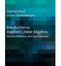 Introduction to Applied Linear Algebra