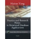 Practice & Research Notes in Relational Database Applications