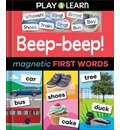 Beep-beep! Magnetic First Words
