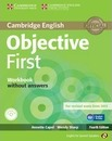 Objective: Objective First for Spanish Speakers Workbook without Answers with Audio CD