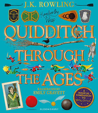 Quidditch Through the Ages - Illustrated Edition by Robert Galbraith